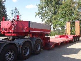 Goldhofer STZ-VL4-37/80 Tieflader komplett überholt!