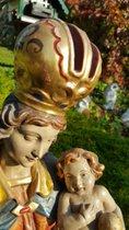 Barocke Heilige Maria mit Jesuskind
