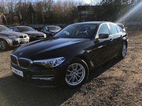 BMW 520iA Navi,LED,Glasd,Kamera,Leder,HiFi,PDC,Alu17