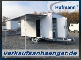 Hofmann Bauwagen 2700kg Anhänger Mannschaftswagen Bürowagen 520x230x230cm