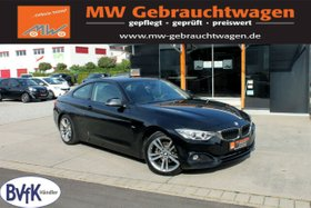 BMW 420i Coupe Sport Line Navi Schiebedach Leder BT