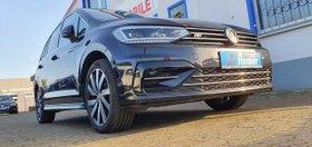 VW Touran 1.5 TSI ACT OPF DSG Highline R Line 7 Sitze ACC Lane Totwinkel Navi AHK Winterr