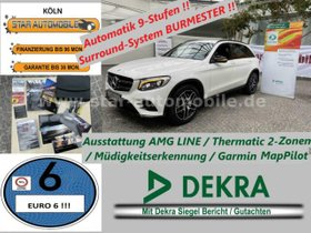 MERCEDES-BENZ GLC 250 d 4Matic-AMG-LINE-LED-RFK-NIGHTPAK-EU6!-