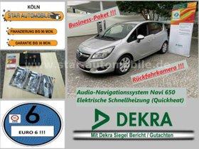 OPEL Meriva Edition 1.6 CDTI-RFK-TEMP-PDC-NAVI-SH-EU6