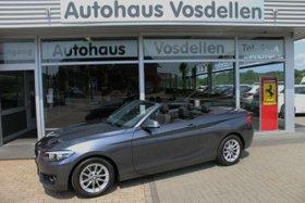 BMW 218d Cabrio  1.Hand, Navi, Autom., Navi 2,99%
