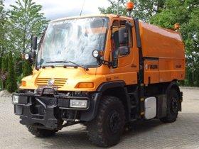 Unimog U 400 4x4 Euro 5 Kehrmaschine Faun VIAJET 5