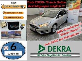 FORD Focus Turnier Business 1,5 TDCI-WINTERP-AHK-EU6-