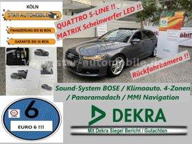AUDI A6 Avant 3.0TDI quattroS-LINE SPORT PLUS-LED-EU6