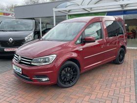 VW Caddy 2.0 TDI DSG Highline -Navi-Bi-Xenon-AHK-