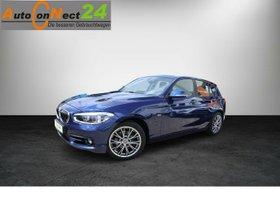 BMW 118d Sport Line -Automatik/LED/Navi/SHZG/PDC/17er Alu-