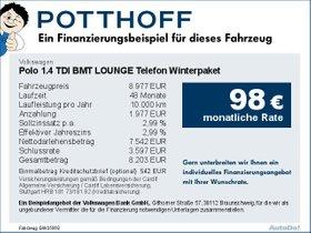Volkswagen Polo 1,4 TDI BMT LOUNGE Telefon Winterpaket