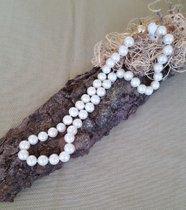 Exclusive sehr feine Perlenkette