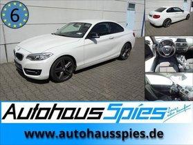 BMW 220 D COUPE AUT. NAV SHZ TEMP SPORT COMF-PAK. EURO6
