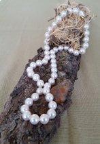 Perlenkette mit feinsten Akoyaperlen - Ein Traum!