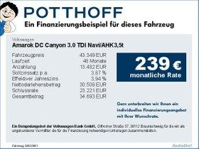 Volkswagen Amarok DC Canyon 3,0 TDI Navi/AHK3,5t