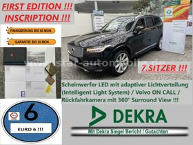 VOLVO XC90 2.0D Geartronic First Edition AWD-7.Sitzer-